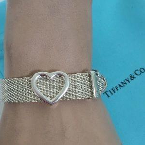 🔴Authentic Tiffany & Co Flexible Mesh Bracelet ❤️